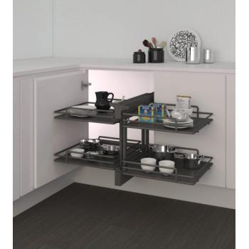 Ferrure 839 Compact 2 pour meubles d'angle - Ellite