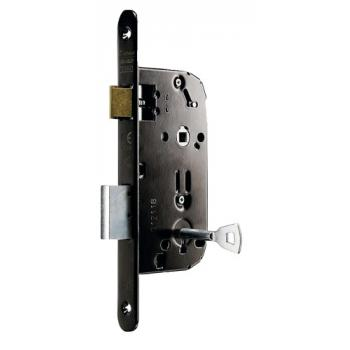 Serrure à larder type D 351 NF axe à 50 mm clé L sans gâche et sans clé n° P 500