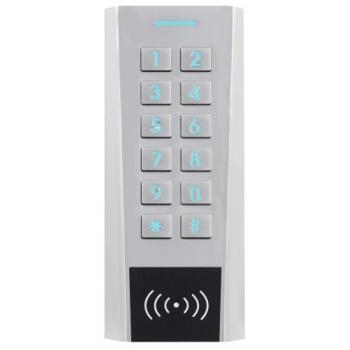 Lecteur polyvalent étroit code et badge AXK électronique intégrée