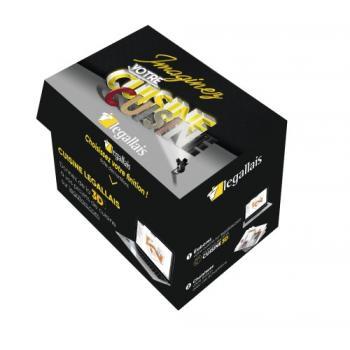 Box classeurs façades Cuisine 3D Legallais