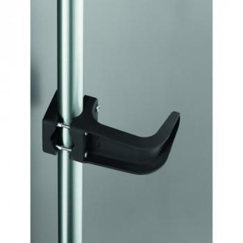 Support de tirage main libre pour poignée de porte battante Ø 38 mm maximum