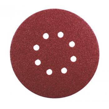 Abrasifs auto-agrippants pour ponceuses excentriques grains oxyde d'aluminium KP222 perforés 8 trous