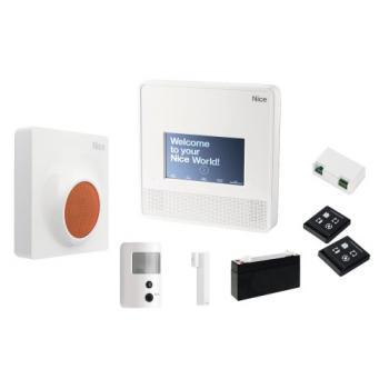 Kit alarme radio à sirène MyNice Confort 7000 Touch Prevention pour automatisme Nice