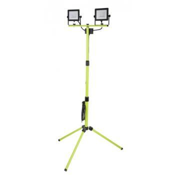 Projecteur LED de chantier extra plat sur pied Eco Tripod