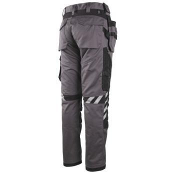 Pantalon de travail multipoches - genouillères intégrées Piren III