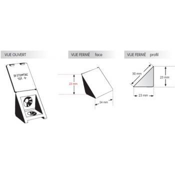 Taquets équerre simple à 2 trous STORO