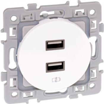Prise double USB Aurigny 2