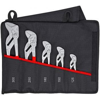 Trousse à outils avec assortiment de 5 pinces-clés