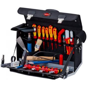Valise à outils « Classic » d'électricien avec 23 outils