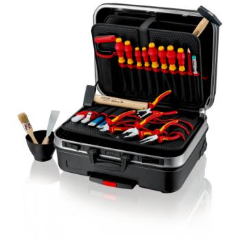 Valise à outils « BIG Basic Move » d'électricien avec 24 outils