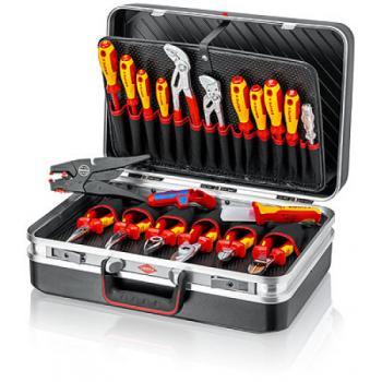 Mallette à outils « Vision24 » Électro avec 20 outils