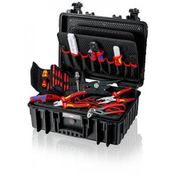 Mallette à outils « Robust23 » Électro avec 25 outils