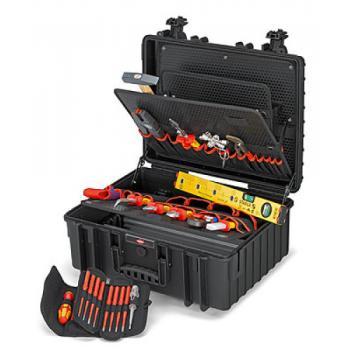 Mallette à outils « Robust34 » Électro avec 26 outils