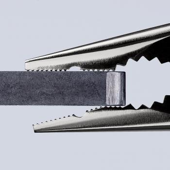 Pince universelle chromée à tête arrondie gainée bi-matière