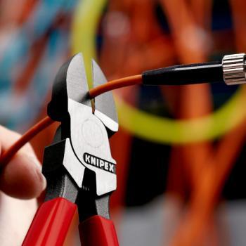 Pince coupante pour câbles de fibre optique