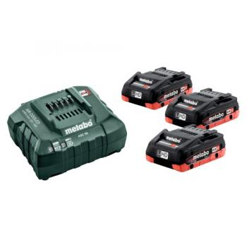 Pack 3 batteries 18V- 4Ah + chargeur