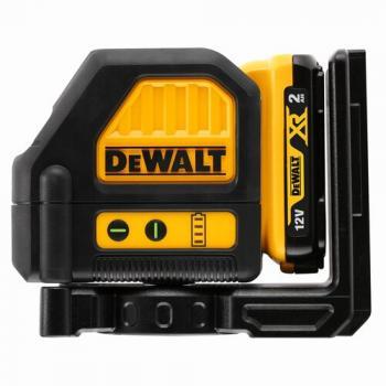 Niveau laser croix XR 10.8v faisceau vert - 1 batterie 2Ah Li-ion + chargeur - en coffret TSTAK - DCE088D1G-QW
