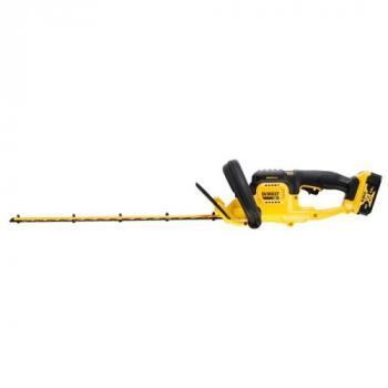 Taille-haies XR 18V 55cm 25mm - 1 batterie 5Ah Li-ion + chargeur - DCMHT563P1-QW