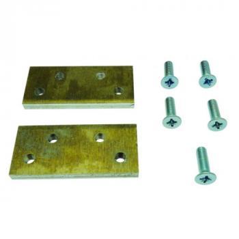 Plaque de montage sur menuiserie métallique pour ferme-porte ITS 96
