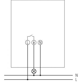 Interrupteur crépusculaire LUNA 127 star S