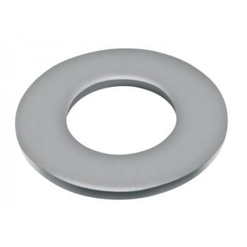 Rondelles plates série moyenne Mu inox A2