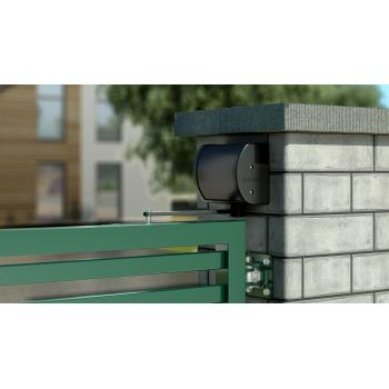 Ferme portail Panther applique pose sur mur ou poteau acier pour battant maxi 150 kg/1500 mm