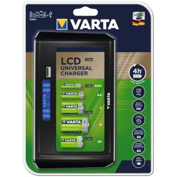 Chargeur Varta LCD Universal Charger