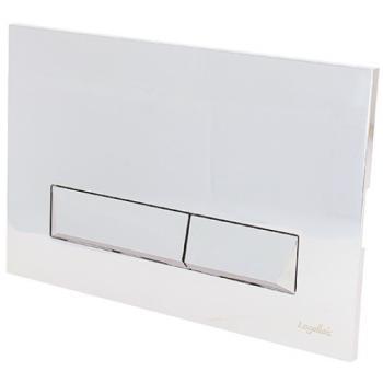 Plaque de commande double touche pour bâti-support Briand 01