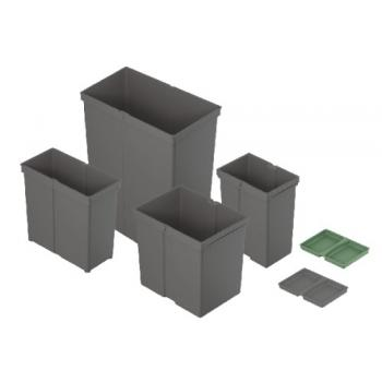 Poubelles InnoTech Pull - Collecteur de déchets encastrables