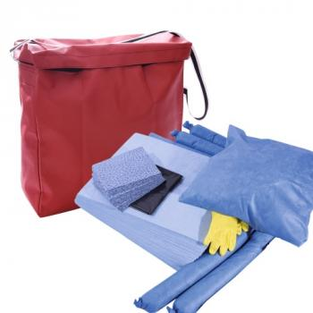Kit absorbant pour interventions d'urgence Hydrocarbures