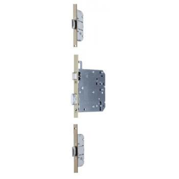 Serrures de sûreté à larder série 5000 XL 3 points à pênes oblongs A2P* accessibilité - axe 120 mm
