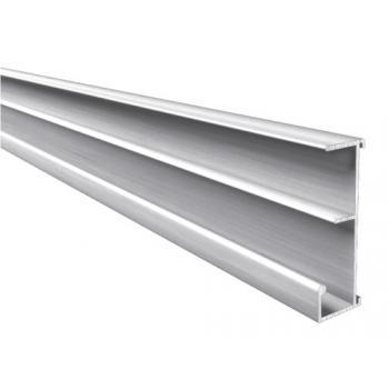Profils de dossiers suspendus en aluminium