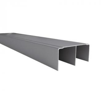 Rail haut pour portes coulissantes de meubles Palma