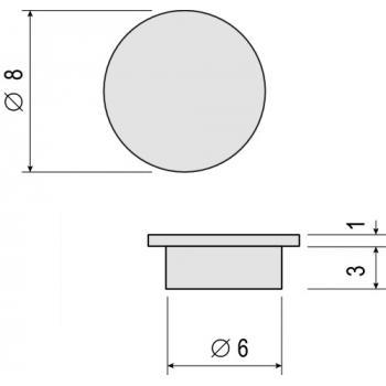 Caches pour système d'assemblage invisible BLU