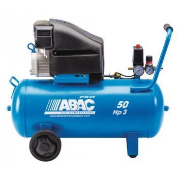 Compresseur d'air à piston lubrifié 50 litres 3 CV - Pro Monte Carlo L30P