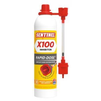 Aérosol inhibiteur de corrosion X100 dose pour installations de chauffage central Rapid-Dose