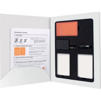 Kit de programmation Management Smartair Iclass Stand Alone fantôme avec 10 badges utilisateurs