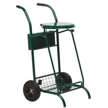 Chariot de voirie avec couvercle 110 litres Mobisac
