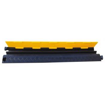 Passe-câble zone piétonne 2 canaux 40 mm