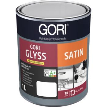 Peintures glycéro menuiseries Goriglyss Satin