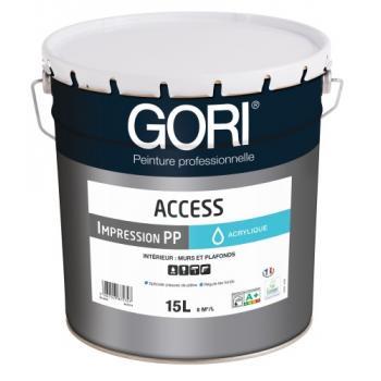 Peinture acrylique plaques de plâtre Goriaccess Impression