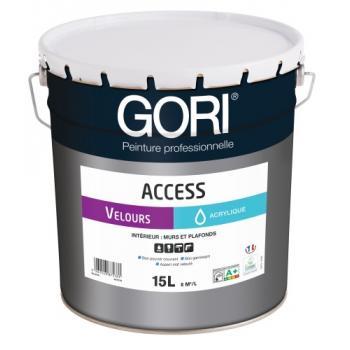 Peinture acrylique murs et plafonds Goriaccess Velours