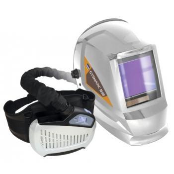Masque soudeur LCD respiratoire GYSMATIC AIR XXL