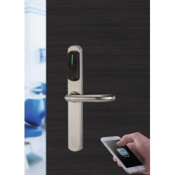 Garniture électronique à badge type Ariès Smart Mifare IP54 sans carré ni vis