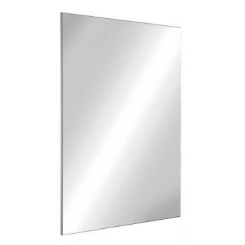 Miroir inox incassable à fixations invisibles