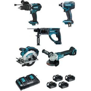 Ensemble de 5 machines 18 V - DLX5039PTJ