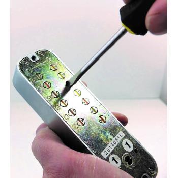 Serrures à code mécanique Jokey 800 - manoeuvre par béquille ou bouton