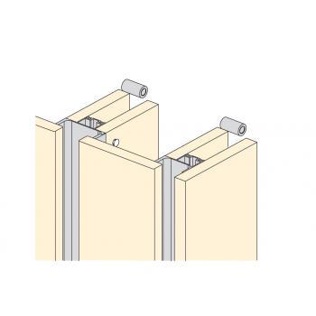 Entretoise pour poignée profil horizontal Gola-E