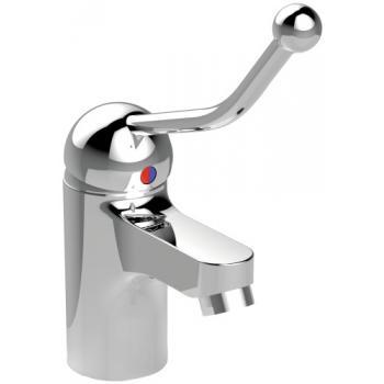 Mitigeur de lavabo à manette allongée Olyos Clinic CH2