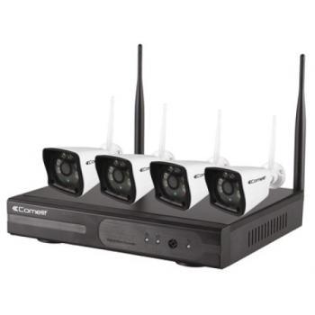 Kit vidéosurveillance Wi-fi WIKIT080A